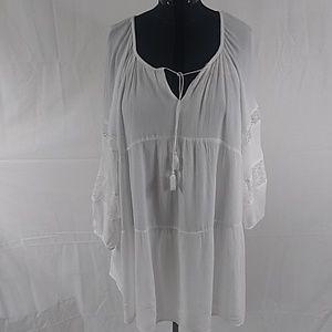 White Plus Size Dress 2x